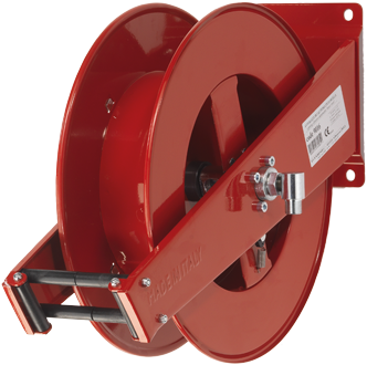 Automatic rewind, spring-driven hose reel 9016