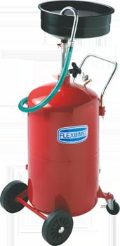 Mobile waste oil suction unit 3179